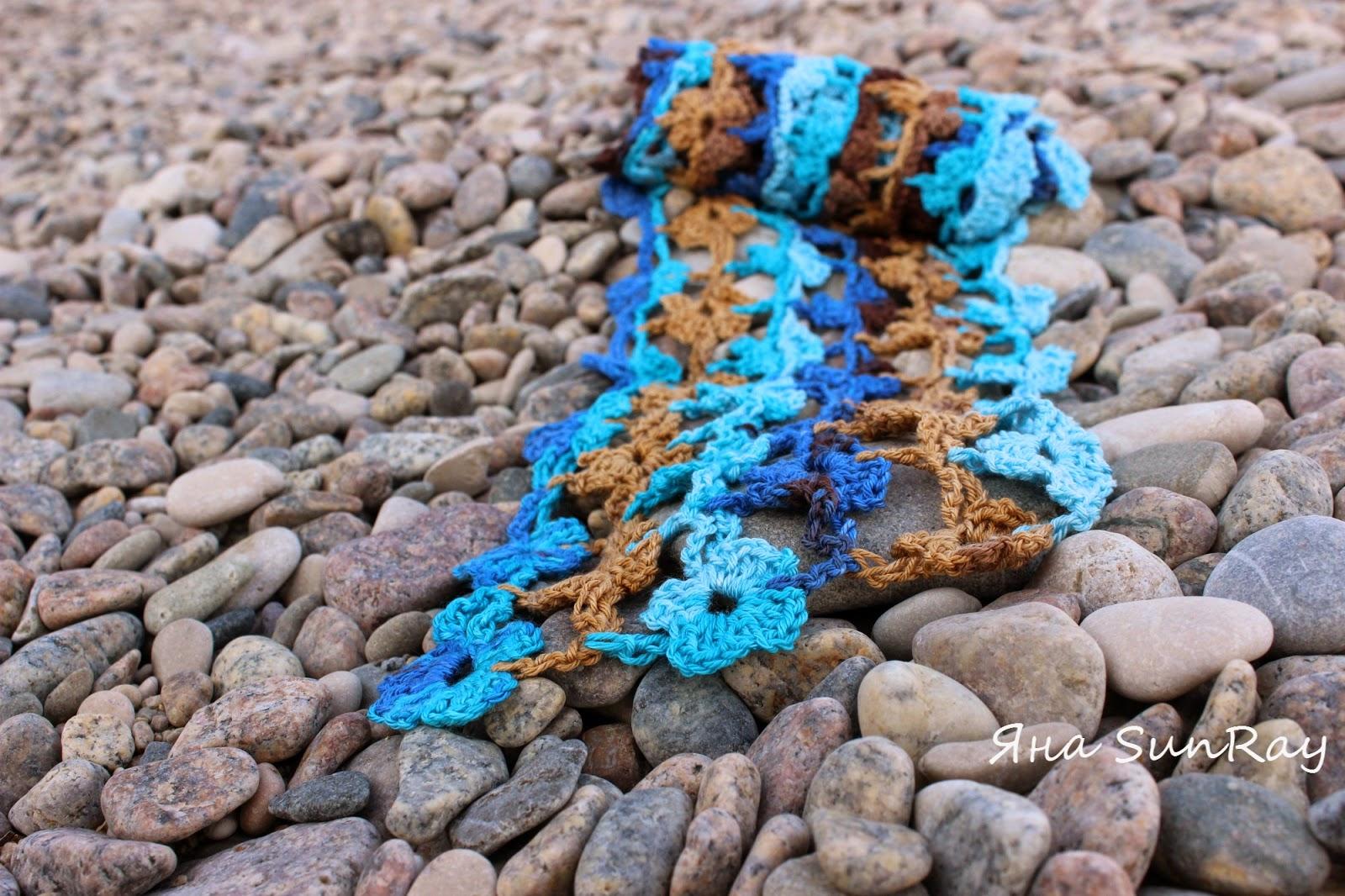 шарфик, оригинальный шарфик,  красивый шарфик, купить шарфик, вязание на заказ, вязание на заказ по Украине, платок-бактус, шаль спицами, легкий шарф, ажурный шарф, настроение своими руками, шарфик крючком