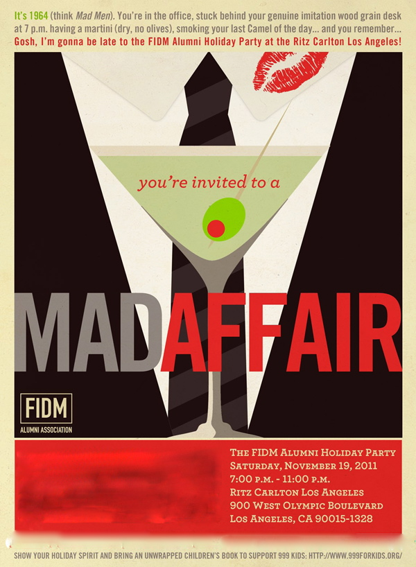 Luxury Mad Men Party Invitations Images - Invitation Card Ideas ...