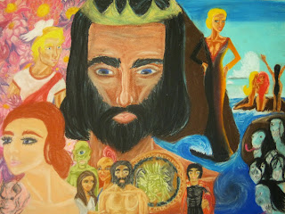 Original Artwork featuring the Greek Gods and Goddesses