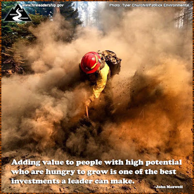 Adding value to people with high potential who are hungry to grow is one of the best investments a leader can make.  –John Maxwell