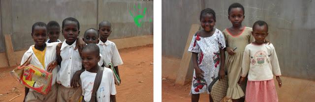 Bambini africani della scuola di Noepé, Togo, Africa