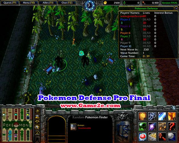 Pokemon Defense Pro Finalw3x