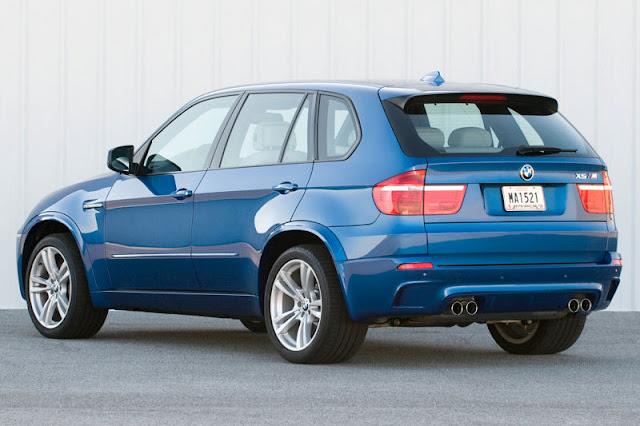2010 BMW X5 M Back Exterior