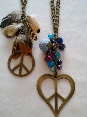 Collares de la paz, con o sin plumas!