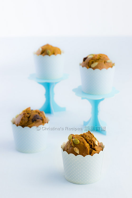南瓜乳酪瑪芬 Pumpkin Yoghurt Muffins01