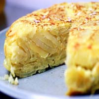 Weight Loss Recipes : Potato Tortilla