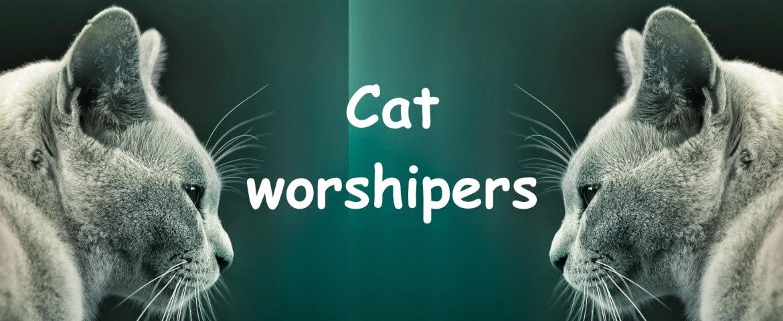 Cat worshipers - cica imádók és cica kedvelők oldala, hasznos és érdekes információk a macskáról