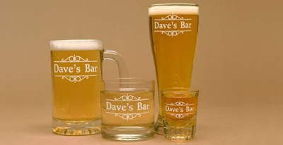 Custom Engraved Beer Mugs and Pilsners - Giveaway