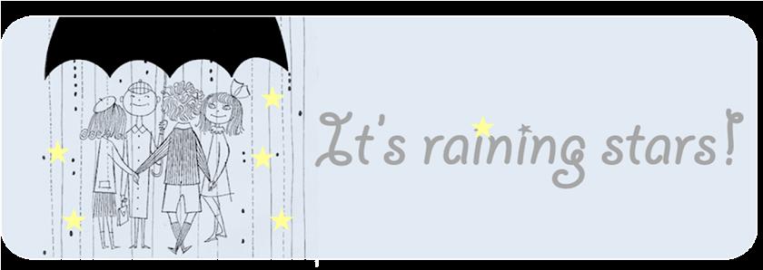 It's raining stars!