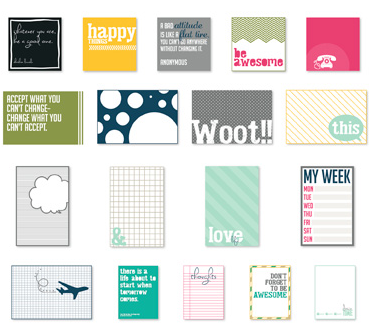 Happy Things Pocket Cards - Digital Download