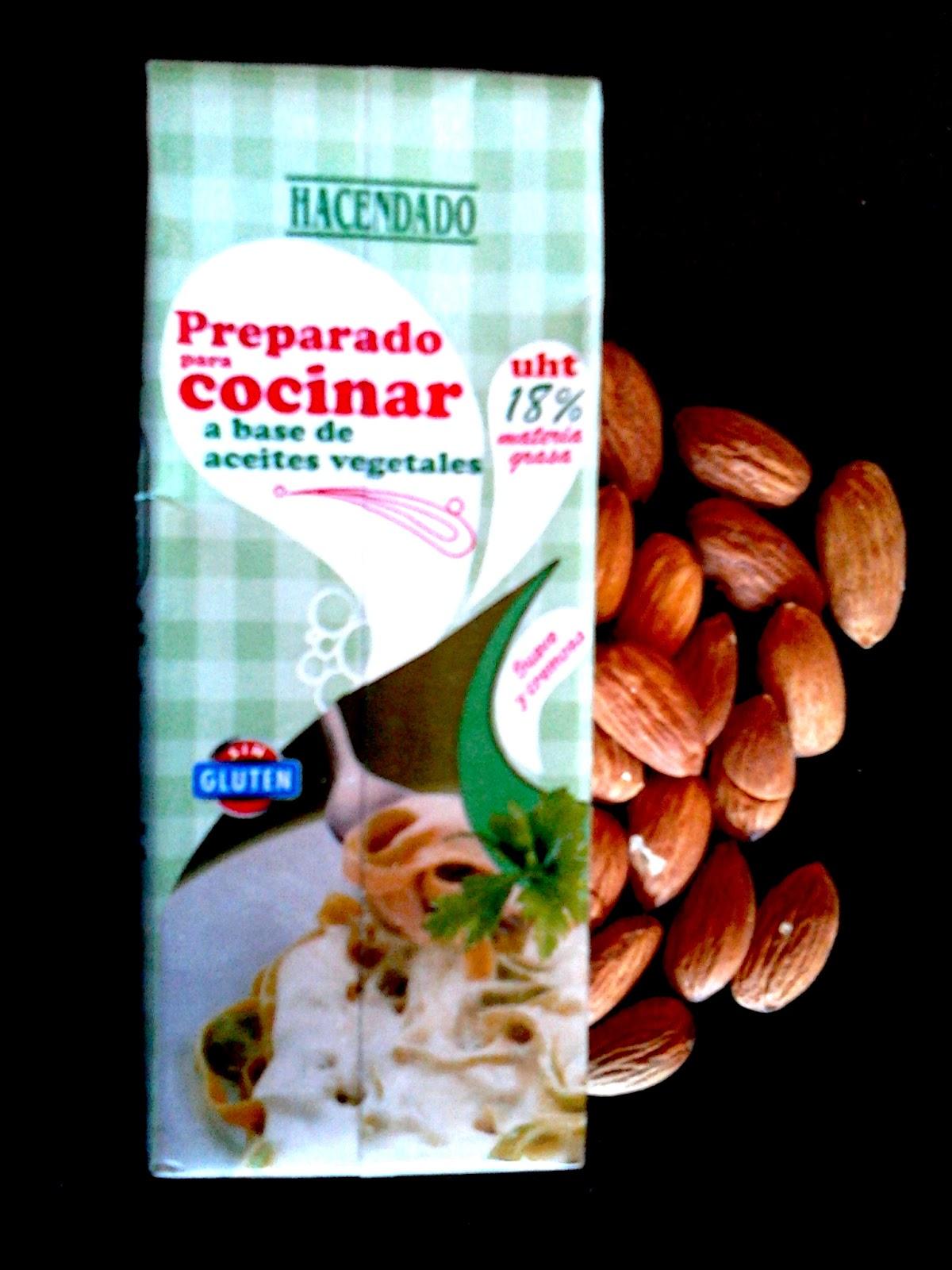 Miss 30 39 s salsa de almendras f cil y sabrosa - Nata para cocinar mercadona ...