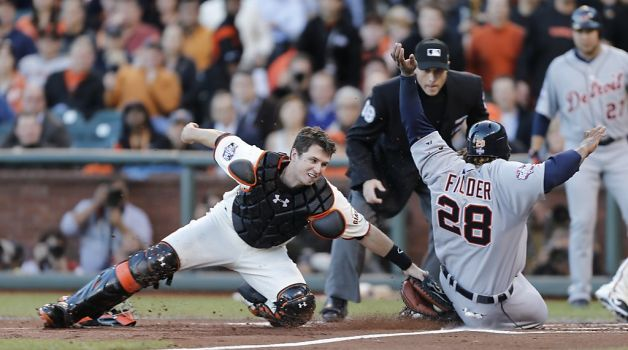 Buster Posey catcher