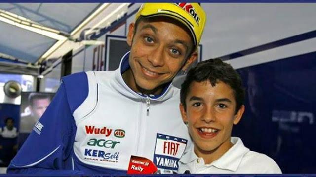 Rossi-Marquez Dulu Idola dan Fans, Kini Musuh Bebuyutan