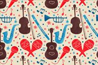 Music is Everywhere by Haidi Shabrina