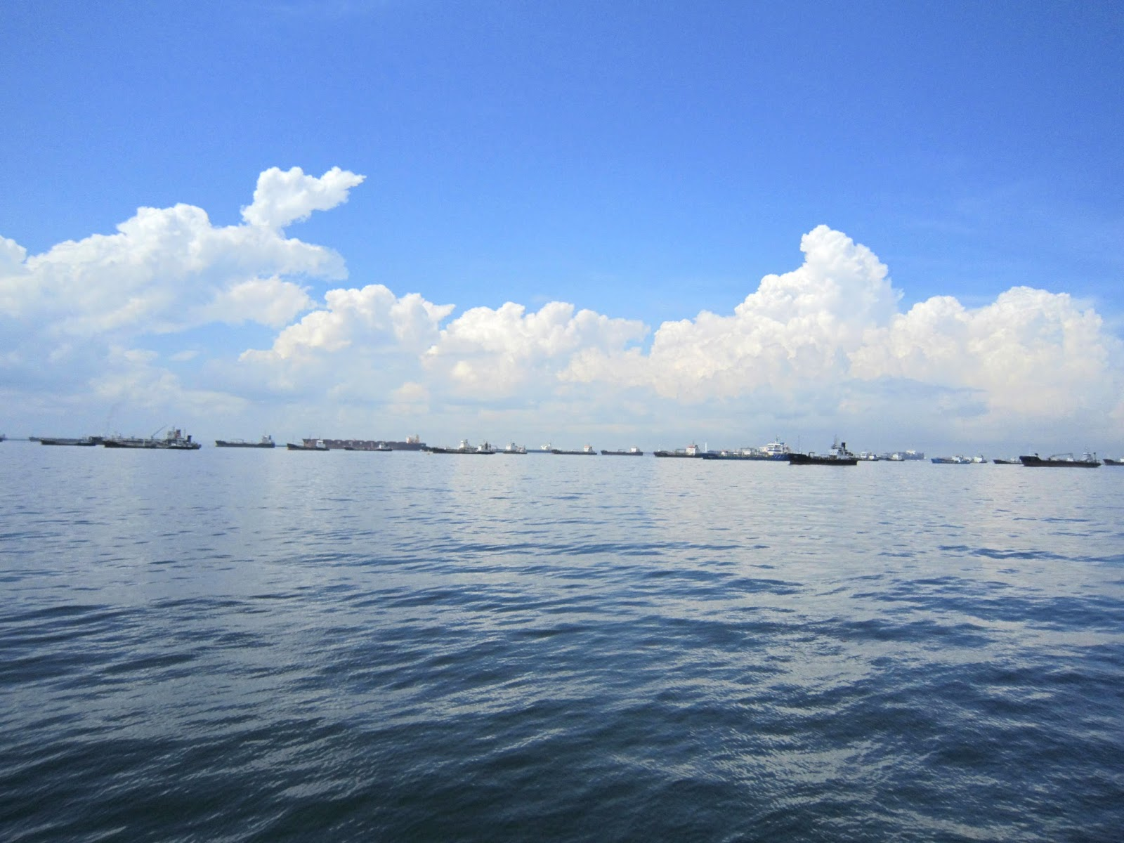 Sea from East Coast Park