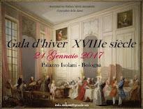 Gala d'Hiver XVIIIéme siècle 21 Gennaio 2017
