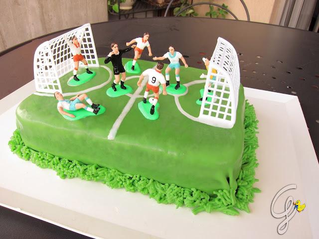 torta campetto di calcio