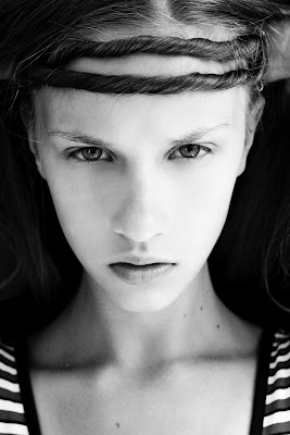 New Face Uljana Kritskaya: test shoot by Eugeny Avrorin