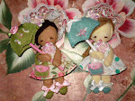 Sweet Little Darlings Felt Doll