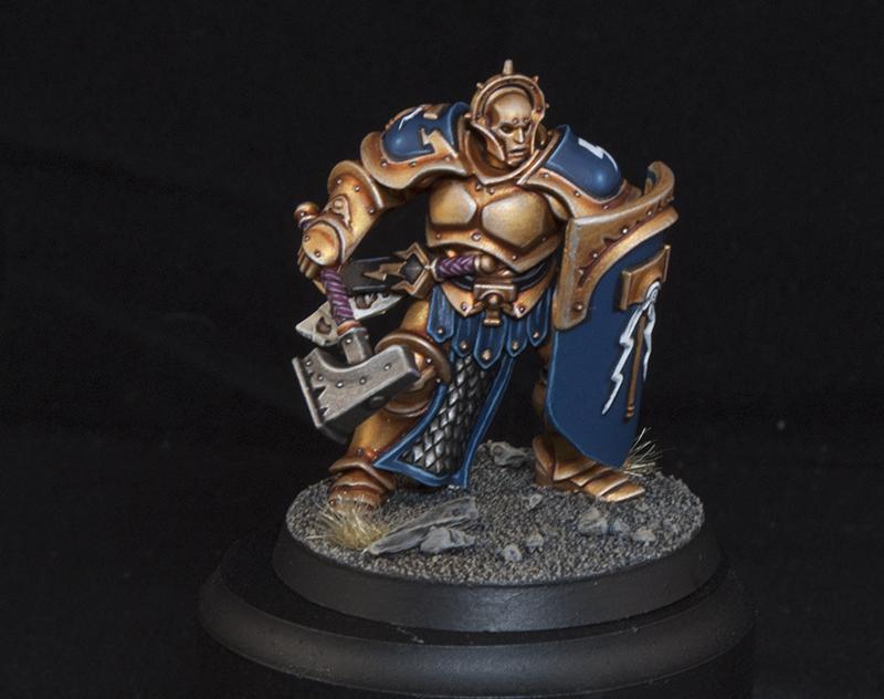 BITS Left Arm for Sigmarite Shield A Stormcast Eternals Liberators