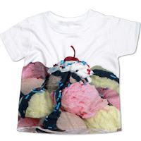 Psychobaby Eat 'Em Up Ice Cream Sundae Tee
