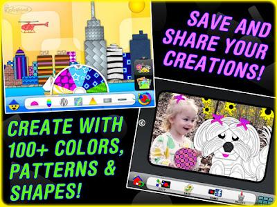 Colorforms Revolution App Screen 2