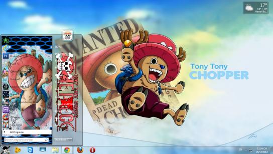 Hướng dẫn cài theme One Piece đẹp lung linh cho Windows 7