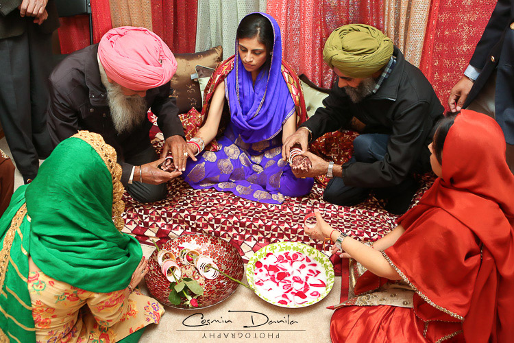 The Choora Ceremony Is Last Pre Wedding Ritual And It Involves All Kirans Maternal Uncles