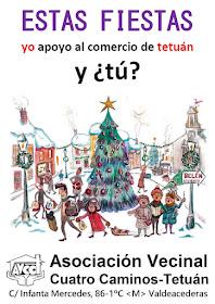 Estas fiestas, yo apoyo al comercio de Tetuán y ¿tú?