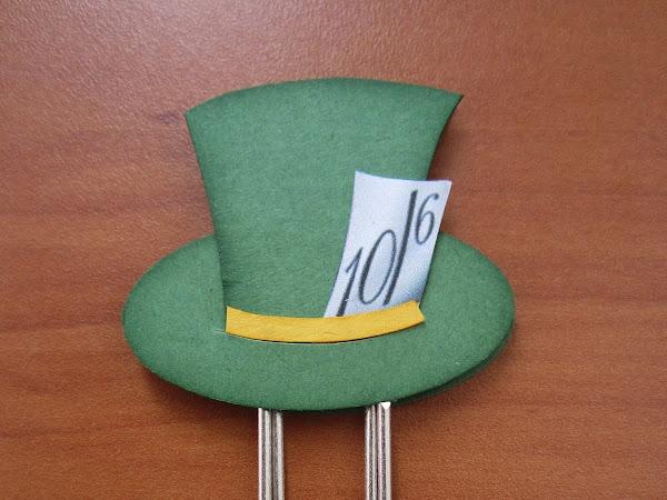 Mad Hatter Bookmark