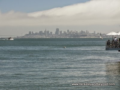 view of San Francisco from Sausalito, California