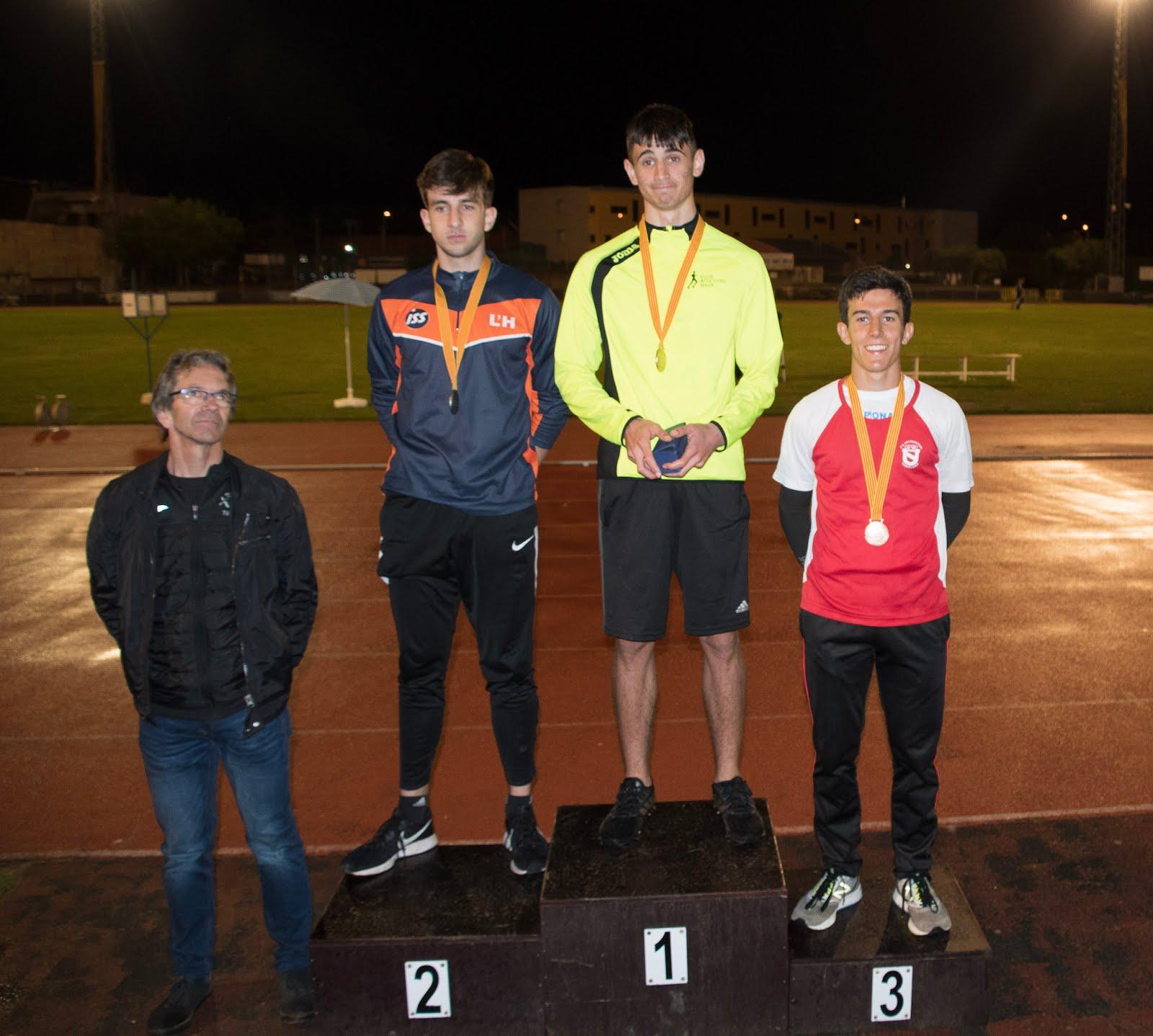 Bronze en el Campionat de Catlunya Sub18 2019