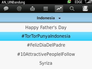 #TorTorPunyaIndonesia