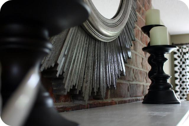 crafts for home decor: sunburst mirror tutorial