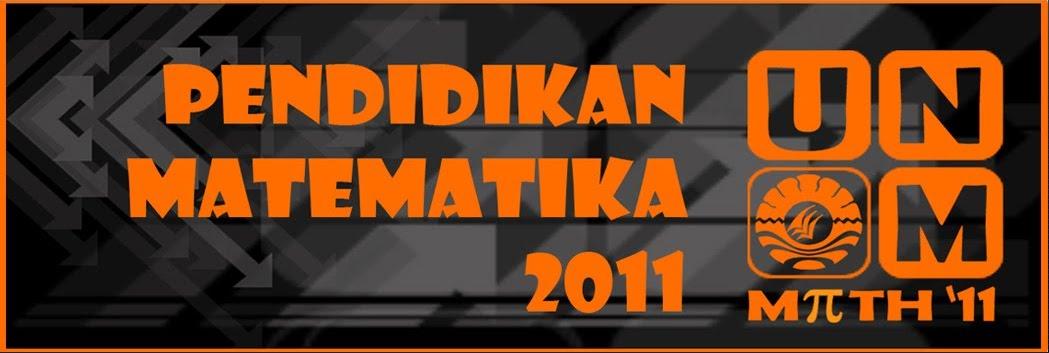 Pendidikan Matematika 2011