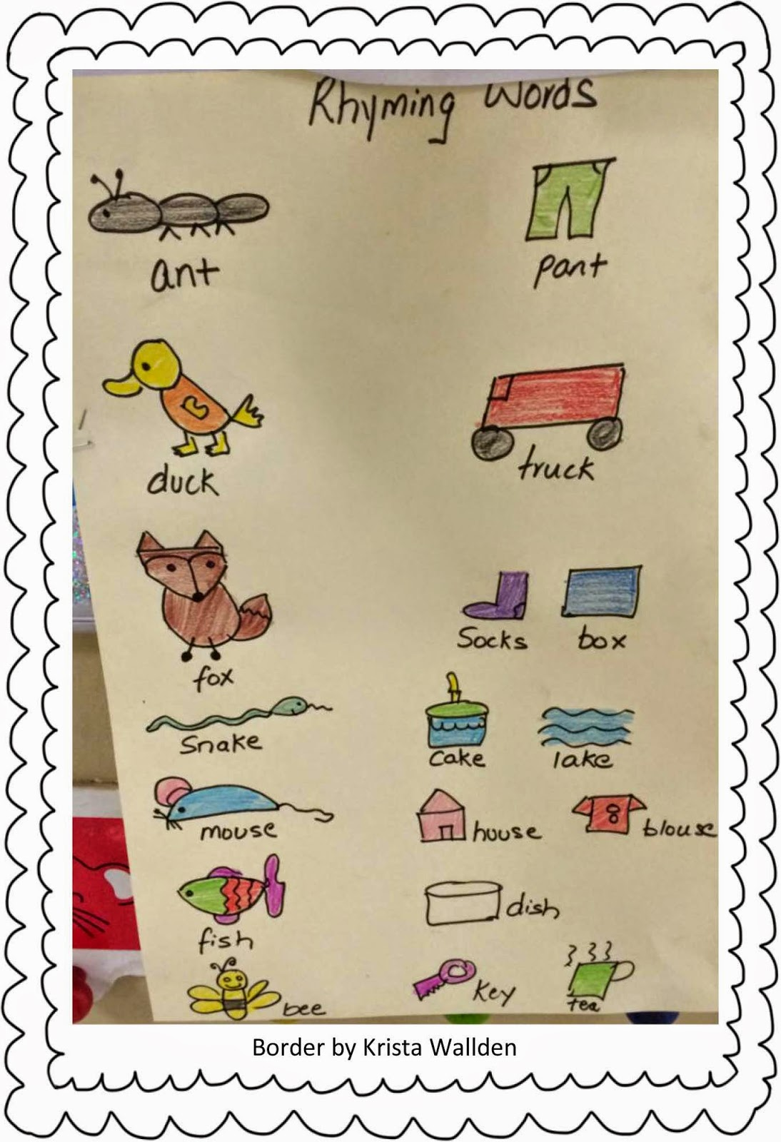 Worksheet Rhyming Words For Animals spoonfuls of kindergarten why is rhyming important songs that after we have had enough practice with the original song i let children come up words for different animals do th