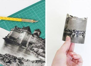 Cara Membuat Kerajinan Tangan Dari Kertas, Penutup Lilin Hias