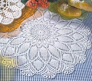 Ma passion le crochet centre de table magnifique - Ouvrages au crochet avec explication ...