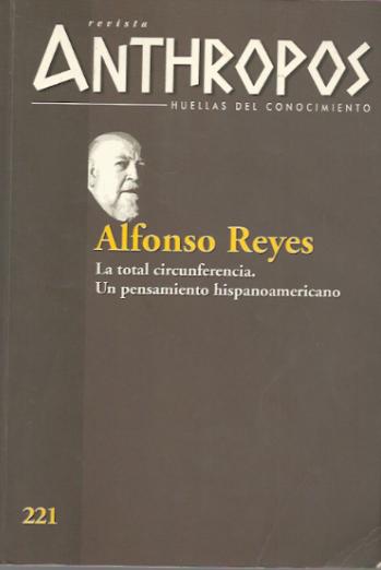 Un número sobre Alfonso Reyes