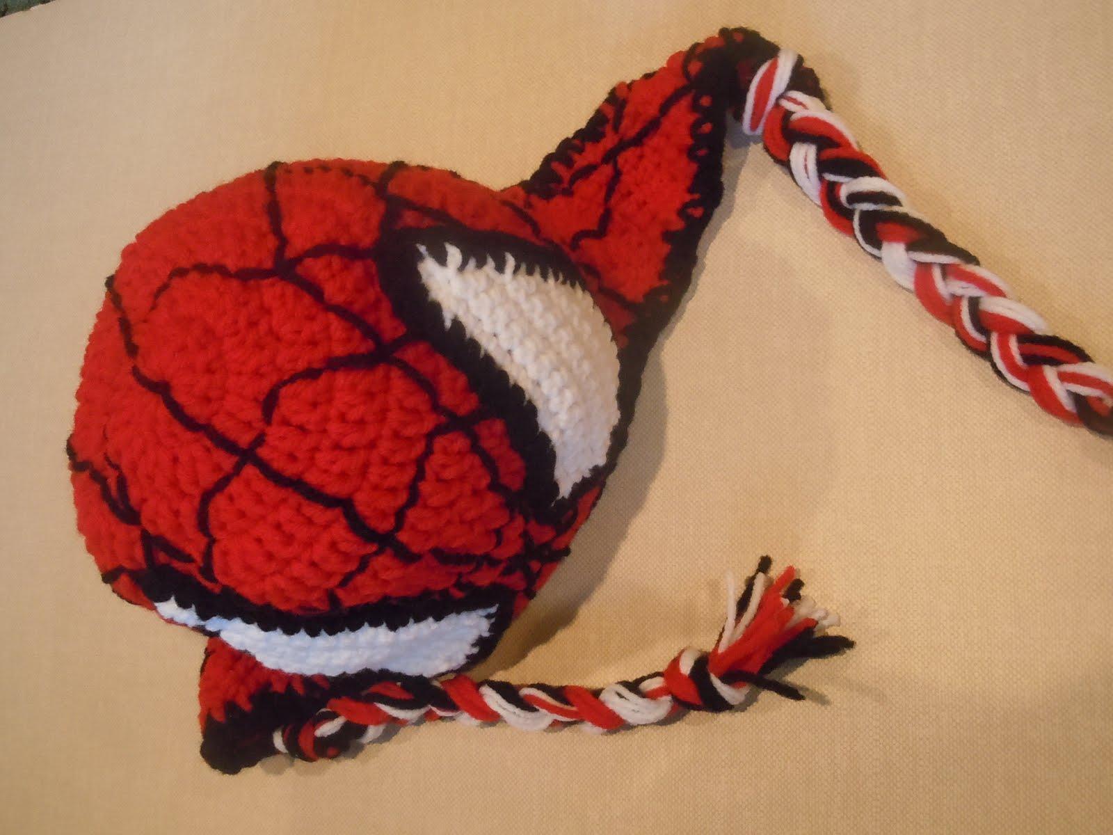Luv Boopa: Spiderman Crochet Hat PATTERN
