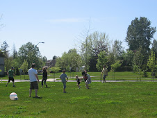 A Family Soccer Game