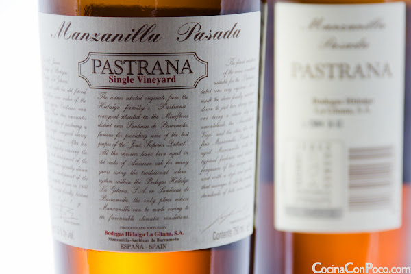 Manzanilla Pasada Pastrana - Bodegas Hidalgo - Jerez - Sherry