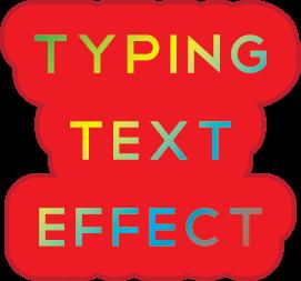 Membuat Efek Typing Text