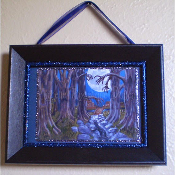 http://shop.halloweenartistbazaar.com/light-at-the-end-of-the-dark-hollow-framed-print/