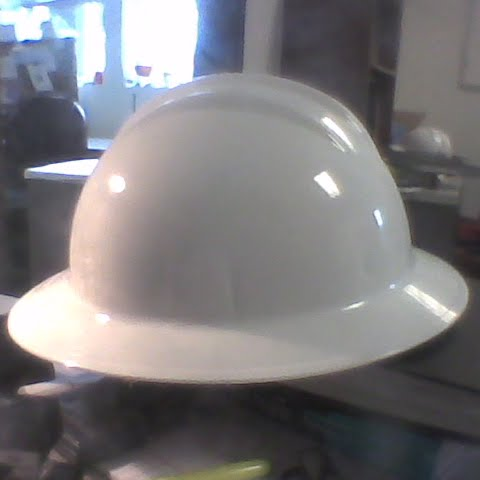 how to put on a hard hat