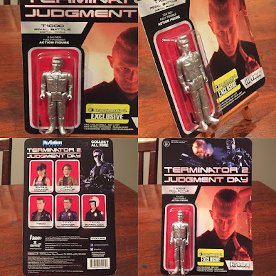 "Toy Review: Entertainment Earth Exclusive Terminator 2 ""Final Battle (Metal Form)"" T-1000 ReAction Retro Action Figure by Funko"