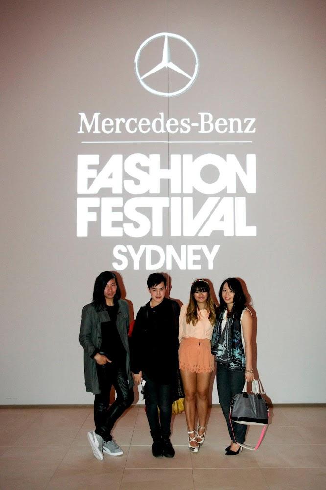 Mercedes Benz Fashion Festival Sydney 2012 Bloggers