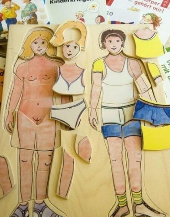 Alat Pembelajaran Seks Untuk Budak Tadika di Switzerland yang Mengejutkan