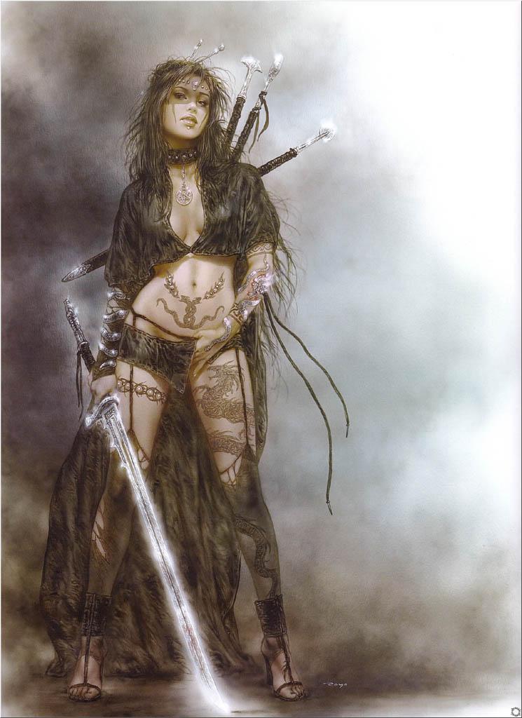 Warrior woman tattoo pictures images photos photobucket - Universo Erso Luis Royo