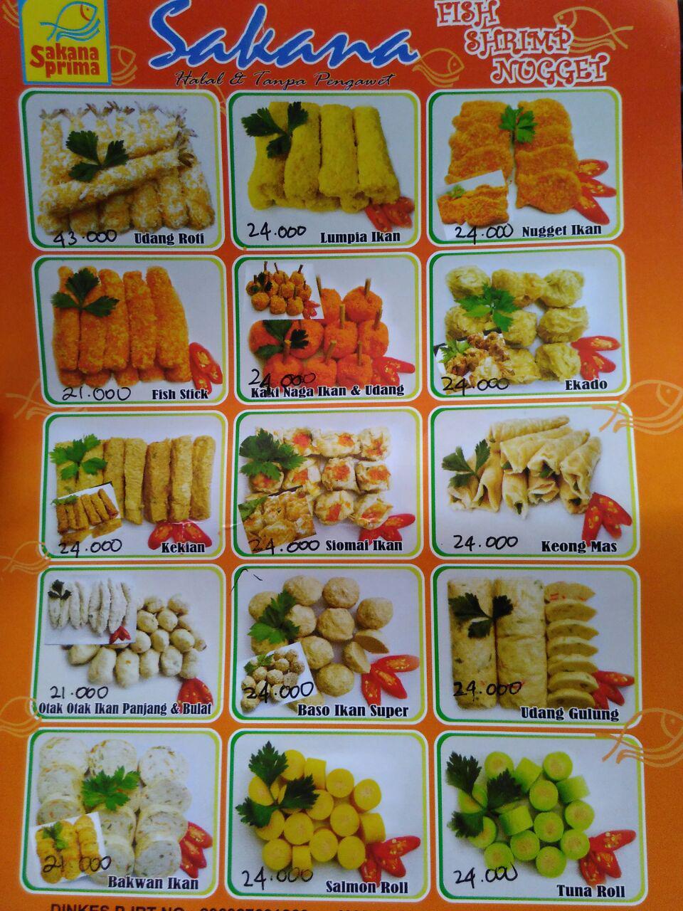 Sakana Food Enak dan Halal
